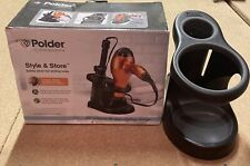 Polder Style & Store Hair Dryer and Straighteners Holder - For Hot Tools
