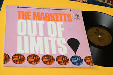 THE MARKETTS LP OUT OF LIMITS 1°ST ORIG USA '70 SOLO COPERTINA ONLY COVER