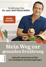 Mein Weg zur gesunden Ernährung Matthias Riedl Buch Deutsch 2020