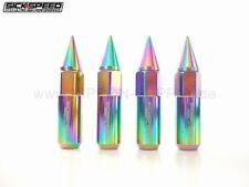 NEOCHROM SICKSPEED Lug Nuts 60/90mm spiked M12x1.5 Radmuttern 4er