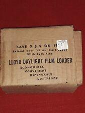 Vintage Lloyd Daylight Bulk Film Loader