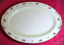 "Fuji China (Rosebud) 16 1/2"" OVAL PLATTER  Exc"