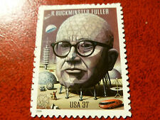 United States Scott 3870, the 37 cents Buckminster Fuller stamp Mint