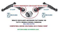 COPPIA BRACCI OSCILLANTI RINFORZATI  FIAT PANDA (169) 1.1 1.2 BZ 1.3 JTD 4x4