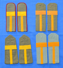 Bulgarian Army Sergeant Major NCO's Chevrons Uniform SHOULDER BOARDS