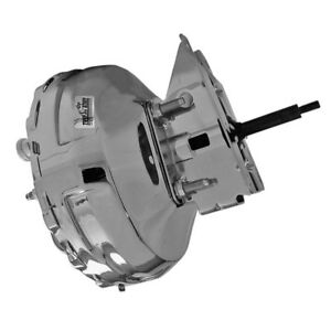 "Tuff Stuff Power Brake Booster 2232NA; 11"" Chrome Steel Dual Diaphragm"
