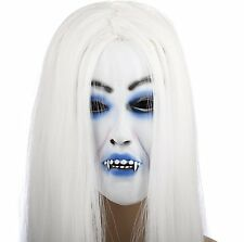 Snow Woman white hair witch horror mask japan import