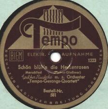 """78er Marschlied Walter Raatzke Orch. & Tempo-Gesangs-Quartett """"Adua-Marsch"""""""