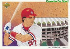 040 TODD ZEILE TC, CL ST. LOUIS CARDINALS BASEBALL CARD UPPER DECK 1992