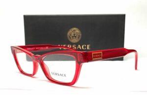 VERSACE VE3275 5323 Red Demo Lens Women's Eyeglasses 51 mm