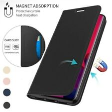 For Xiaomi Poco X3 M3 10T Redmi Note 9S 8Pro Magneti Wallet Card Slot Case Cover