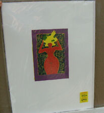 "Original Vintage Nude Print 18"" X 14"" Beautiful Colors, Lithograph on art paper"