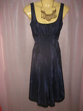 Cue NWOT Beautiful Midnight Blue Dress Size 4-8