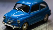 Fiat 600 1962 - Argentina Rare Diecast Scale 1:43 New Sealed With Magazine
