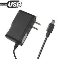Portable Motorola Razr V3 Travel Adapter Charger with Built In Usb Cable Black
