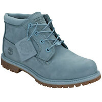 Women's Timberland Nellie Chukka Boots In Stone Blue From Get The Label