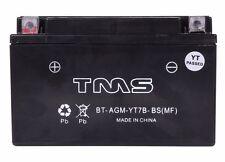 AGM Battery YT7B-BS for Suzuki DRZ400 E/S/SM Yamaha YFZ450 V/X TTR250 Zume 125