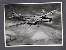 AIR FRANCE DEWOITINE D.338 F-AQBF VINTAGE ORIGINAL AF PHOTO