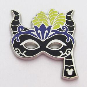 Disney Pin Maleficent Sleeping Beauty Hidden Mickey Villain Carnevale Masks