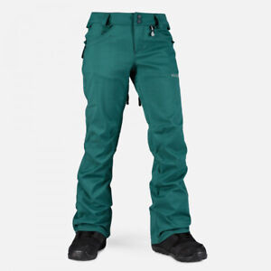 New Volcom Womens Species Stretch Snowboard Pants Small Spruce