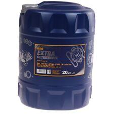 75W-90 MANNOL Extra Getriebeöl 20L Schaltgetriebeöl API GL 4 GL 5 LS MAN 342 Öl