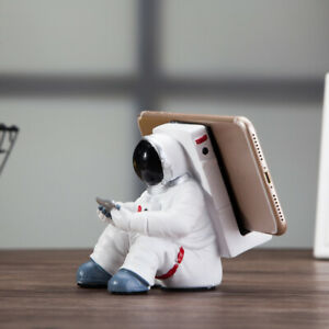 Funny Astronaut Spaceman Phone Holder Stand Mount For iPhone iPad Samsung Tablet