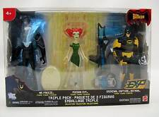 NEW CRIMINAL CAPTURE BATMAN ACTION FIGURE TRIPLE PACK MR FREEZE POISON IVY TOYS
