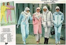 Publicité Advertising 1980 (2 pages) Haute Couture Vetements Courrèges