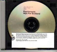 (DF849) Psychonauts, Hips For Scotland - 2003 DJ CD
