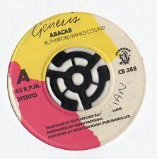 """GENESIS-ABACAB 7"""" c1981 unique"""