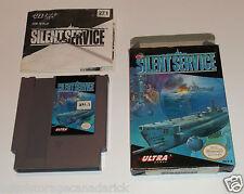 Silent Service (NES, 1989) Original Nintendo VCG With Box & Instructions
