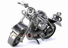 Handmade Harley-Davidson 14CM Iron Motorcycle Model Decoration & Gift #M37