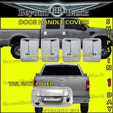 2008-2016 Super Duty 4Door Chrome Door Handle Cover 2Kh+Chrome Tailgate W/Camera