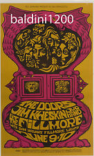 The Doors Jim Morrison RARE 1967 Quality Concert Poster Looks Great Framed