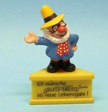 Dreiecksockel Schleich socle podest BUBBLIES Clown Zirkusdirektor