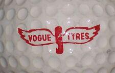 (1) VOGUE TYRES TIRES AUTO CAR AUTOMOBILE LOGO GOLF BALL ( VINTAGE )