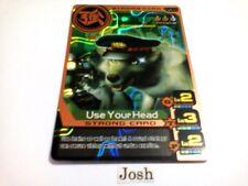 Animal Kaiser Original English Version Ver 6 Bronze Card (S056: Use Your Head)