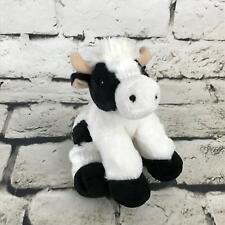 Aurora Flopsie Mini Moo Cow Plush Weighted Feet Stuffed Animal Soft Toy