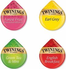 Tassimo Twinings Variety Sample Pack Forest Fruits Earl Grey Green English Tea