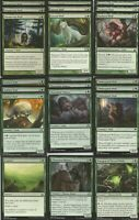 Green Wolves - MTG -Custom Casual Deck - Full 60 Card Deck - Magic the Gathering