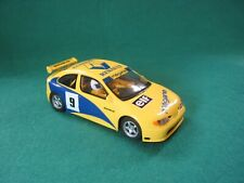SCALEXTRIC  MEGANE #9 FRONT LIGHTS WORKING SLOT IT TYRES VG  UNBOXED BARGAIN