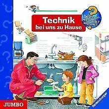 Wieso? Weshalb? Warum? Technik bei uns zu Hause. CD | Buch | Zustand gut
