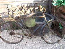 2 ANCIEN VÉLOS PEUGEOT 1930 roues et garde boues chapeau de gendarme,no émaillée