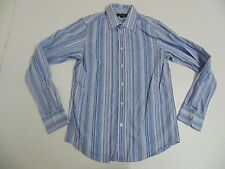 Ben Sherman blue stripes shirt - medium mens - S4886