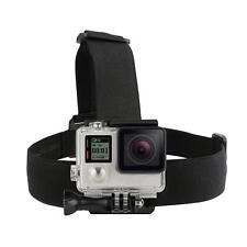 Flexible Head Strap For Go Pro Camera GoPro 2 3 3+ 4 5 Elastic Mount Ski Hat
