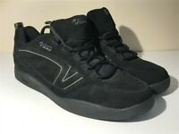 Vans Hera Rare Leather Black Womens Skate Shoes Trainers Athletic Shoes Size 11