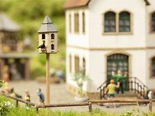 NOCH 14345 Pigeonnier Volière / maison d'oiseau 13x13x65mm H0/TT