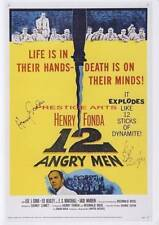 12 Angry Men signed movie poster print