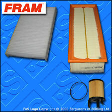 SERVICE KIT for PEUGEOT 307 1.6 HDI FRAM OIL AIR CABIN FILTERS (2004-2009)