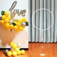 1set Balloon Column Arch Set Base Stand Display Kit Wedding Decoration O5R7